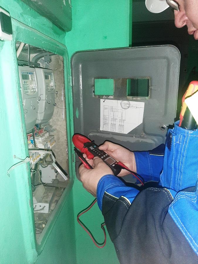 Замена эелктросчетчика